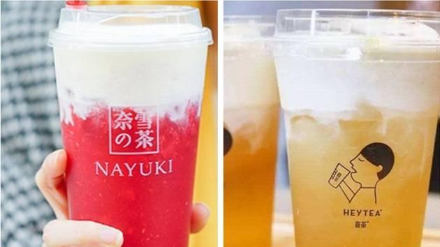 奈雪和喜茶互懟 同質化的網紅茶還能火多久?