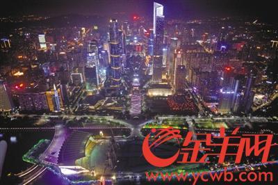 【壮阔东方潮 奋进新时代】中轴线上新地标装点千年广州