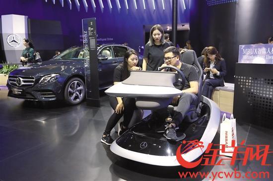 看车去!广州车展今起向公众开放