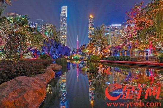 廣州塔燈光秀昨起恢復 每晚播放一場進場需預約