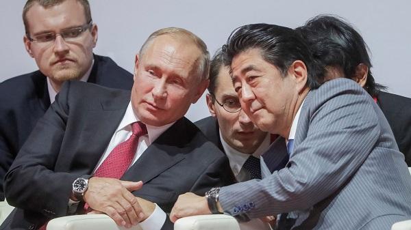 克宫助手:普京与安倍将于下周举行会晤 在新加坡