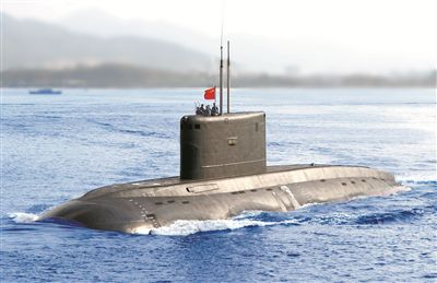 """""""高光""""时刻的背后 中国海军核潜艇部队的精神底色"""