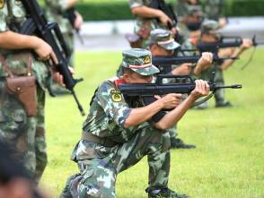 """武警深圳支队建设水平""""步步高"""":特区的兵,不是白当的!"""