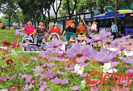 拆围透绿第一个! 广州天河公园改造后靓出新境界