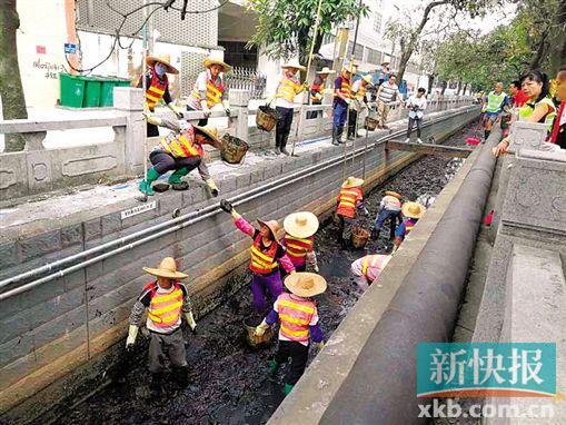 """加快黑臭水体治理 广州退出""""水环境达标滞后地区""""行列"""