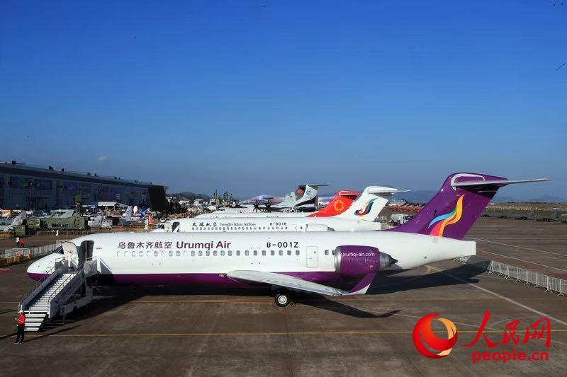 ARJ21三机聚珠海 国产喷气支线客机未来五年交付将超百架