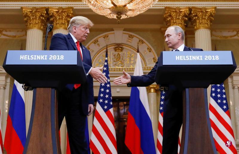 特朗普:不会在巴黎与普京单独双边会晤
