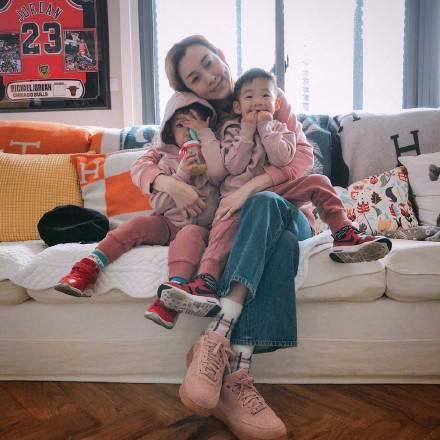 范玮琪与儿子