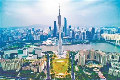 中轴线新规划:广州塔南地区要建大公园