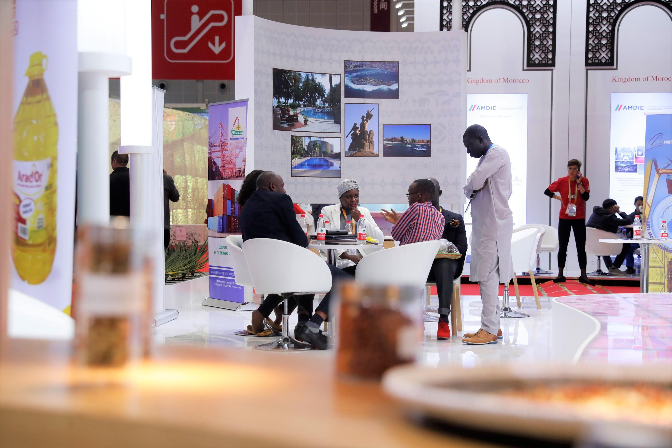我们平时吃的花生都来自哪儿?来看下进博会塞内加尔国家馆