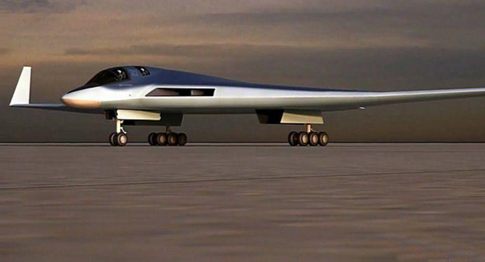 俄已开始研发PAK-DA隐身战略轰炸机 部分细节曝光