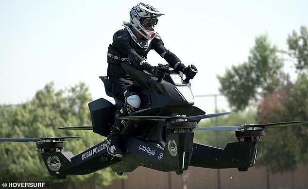 俄新款四驱飞行摩托已接受预定 每台15万美元