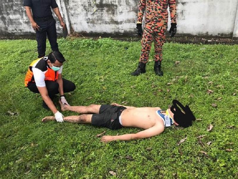 马来西亚少年欲跳化粪池自杀 因扭伤腰而未遂