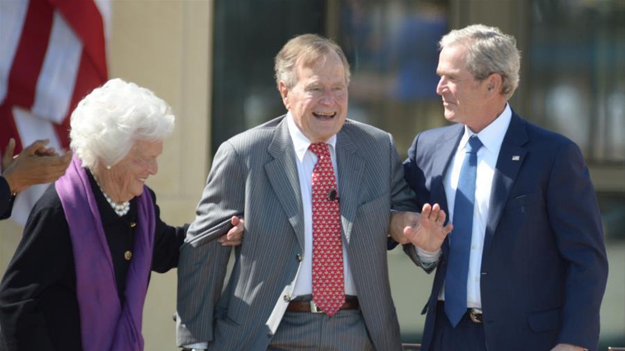 美國前總統喬治·赫伯特·沃克·布什去世