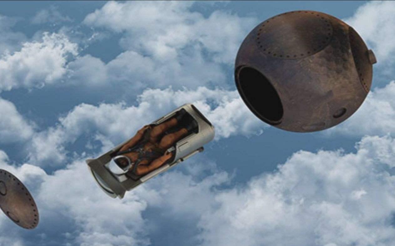 """首次!SpaceX火箭将载100人骨灰升空集体""""太空葬"""""""