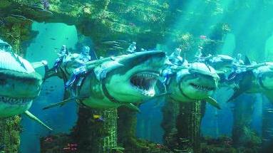 《海王》视觉特效获赞 瑰丽海底世界堪比《阿凡达》
