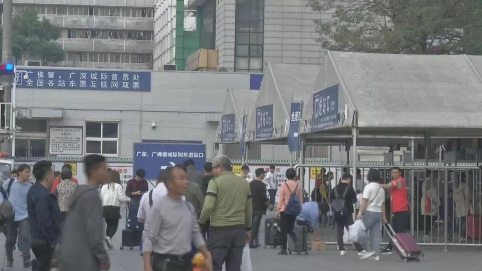 注意绕行!广州火车站进站口分期封闭施工