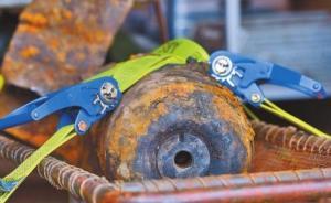 德国科隆一月内拆除3枚二战遗留哑弹,其中一枚重达1吨