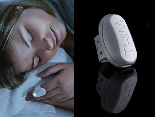 比手环监测更灵敏 新款睡眠质量检测仪长这样