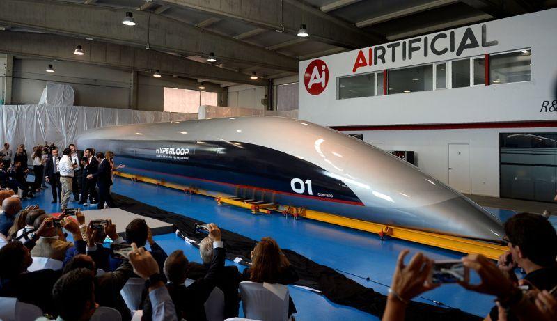 HyperloopTT拟在德国建100米长超级高铁测试轨道