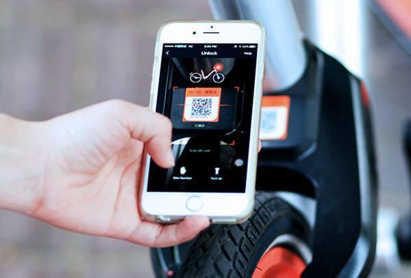 共享单车被贴假二维码:不但没开锁手机还出故障,有人被骗钱