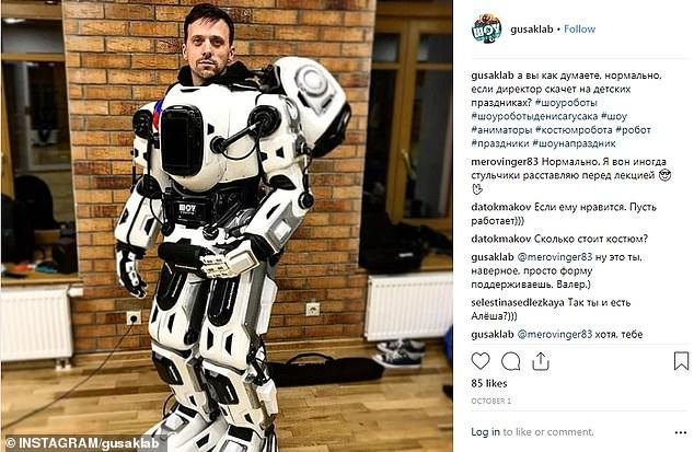 """大骗局!俄罗斯""""高科技""""机器人系人类伪装"""