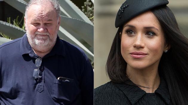 梅根父亲尝试与女儿再建联系 曾抨击皇室与哈里