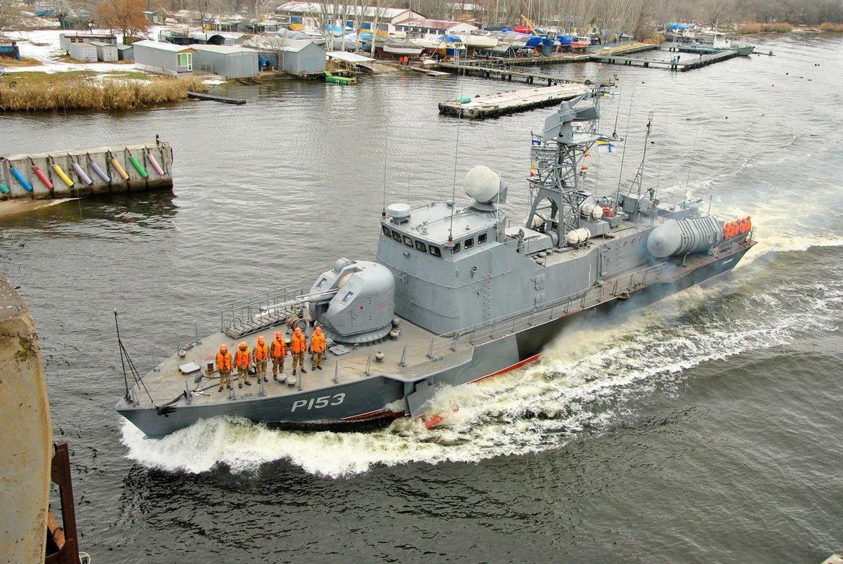 乌克兰唯一导弹艇没弹可用 索性把发射筒都拆了