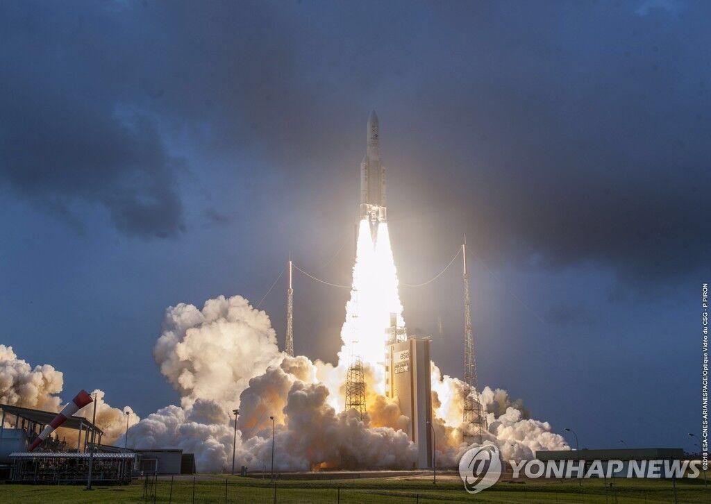 韩国成功发射首颗自研气象卫星 将在未来10年观测半岛气象
