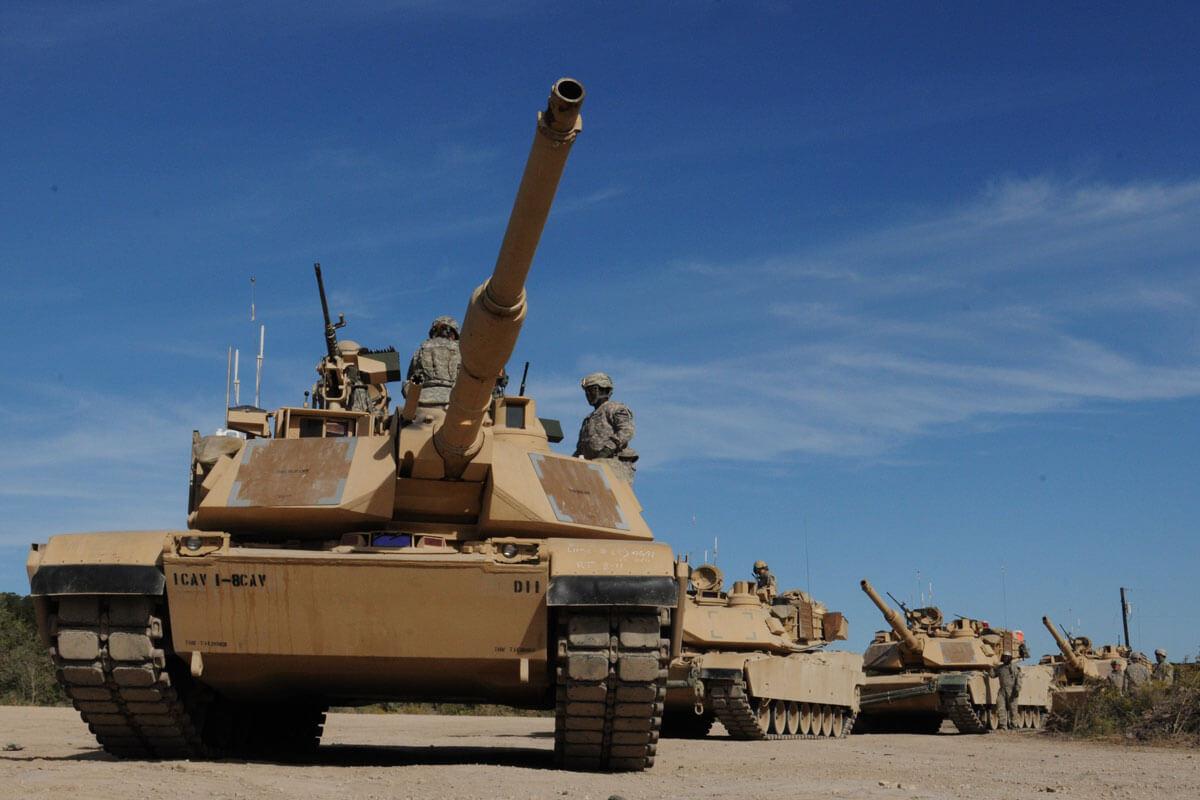 台媒:台购美M1A2坦克已报价 300亿新台币买108辆