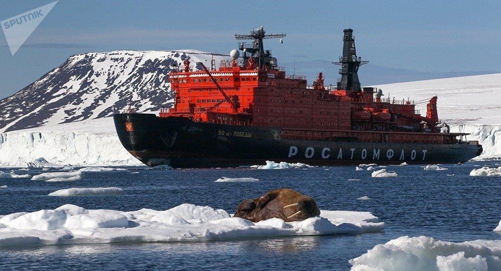 美媒:美仅剩两艘老旧极地破冰船 俄将有40艘!
