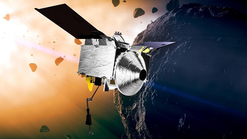 """美""""奥西里斯-REx""""探测器旗开得胜——贝努小行星上惊现水踪迹"""