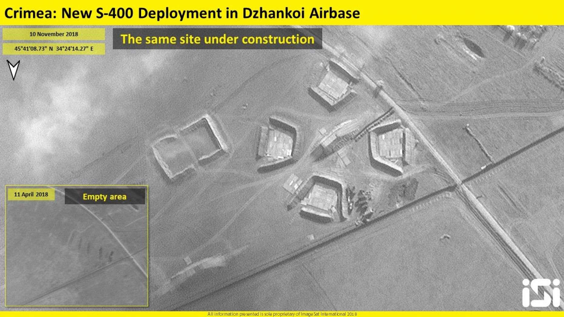 卫星拍到俄新增部署S400画面 距乌边境仅30公里
