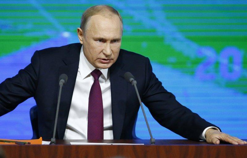 普京批评美国欲退出中导协议 严重可致全球核灾难
