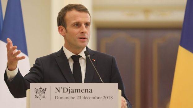 法国不满美国从叙利亚撤军 马克龙:盟友要并肩战斗
