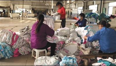 江西三甲医院洗涤厂调查:带血床单手术服混洗遭污染