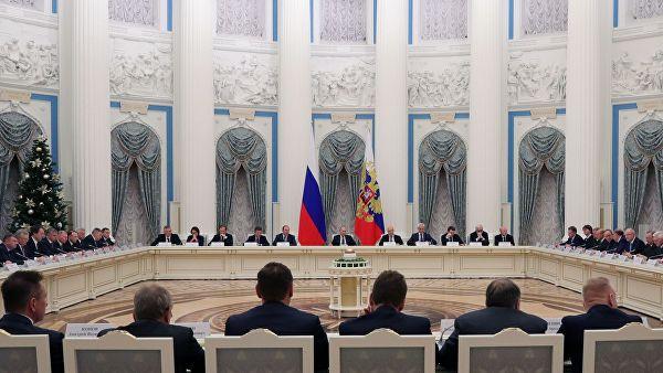 普京见俄罗斯商界人士:我们不会陷入孤立主义