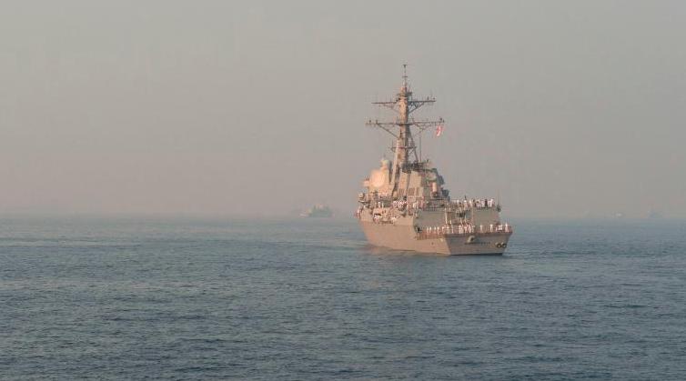 再挑衅?美国一导弹驱逐舰航行至俄海军驻地附近