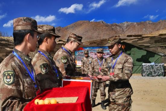 西藏军区用这项考核考出政治工作的硝烟味