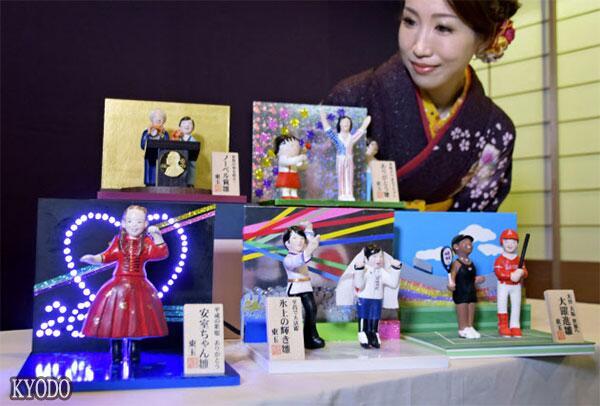 人偶告诉你2018年日本哪些人受关注?日厂商发布5款特制人偶