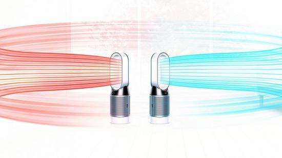 戴森推Pure Hot+Cool暖风空气净化器新品 售650美元