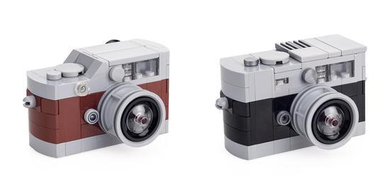 徕卡推出乐高徕卡M模型相机 售价三百元