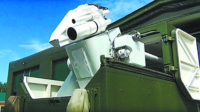 俄部署新型激光武器 不仅要上舰还要反卫星?