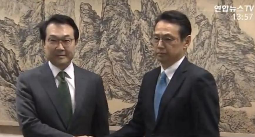 六方会谈韩日团长会晤 就无核化进展方案交换意见