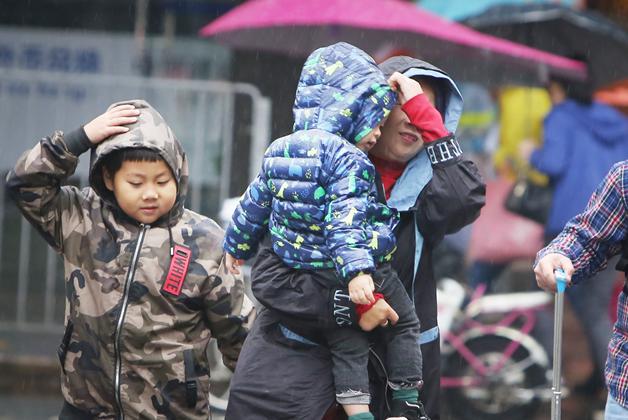 广州气温下降,最低至11°C!