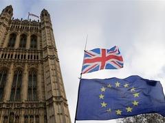 """英国商务部长警告""""无协议脱欧""""将有灾难性后果"""