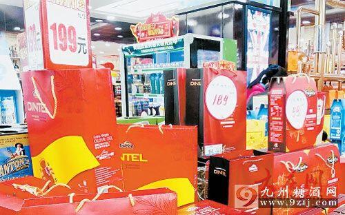 近百种春节年货礼盒上市 九成价格在一两百元之间