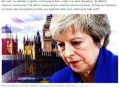 """英议会将表决""""脱欧""""协议 英首相呼吁议会通过协议"""