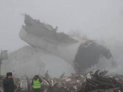一架载有数人的货机在德黑兰坠毁 事发时天气恶劣