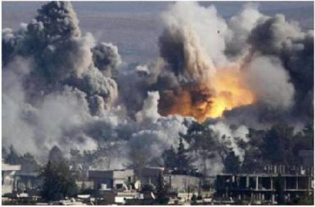 国际联盟空袭叙利亚东部致20名平民死亡